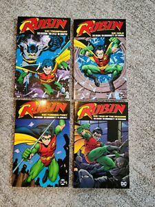 Robin Vol: 2-5 by Chuck Dixon - DC Comics Trade Paperback EXCELLENT CONDITION!