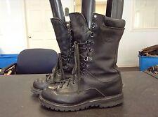 Matterhorn Black Leather Insulted Waterproof Field Boots Women's Size 8 M