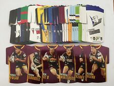 2009 Select NRL Classic Series - Holofoil Die Cut Jersey - Full Set of 96 Cards