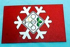 Cartolina del Coni anni 70 Giochi della Gioventù di 8,5 x 13,5 cm.
