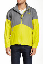 THE NORTH FACE FLYWEIGHT LINED JACKET ACID YELLOW MENS SIZE MEDIUM NEW WITH TAGS