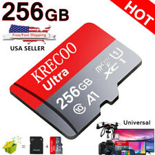 256GB Micro Memory Card Fast 4K Class10 Flash TF Card with Adapter Car Camera