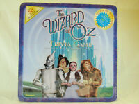 The Wizard Of Oz Trivia Board Game Collectible Tin, by Pressman 1999, Comp New