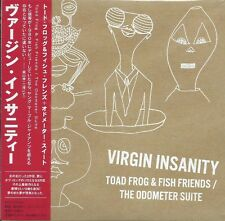 VIRGIN INSANITY - TOAD FROG & FISH FRIEND + ODOMETER SUITE JAPANESE MINI-JKT CD