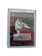 Weston McKennie 05/10 Auto - Topps UCL Knockout Numbered Parallel - Juventus USA