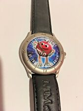 M & M Candy Millennium Watch 1998 Limited Edition Never Worn Citizen Quartz