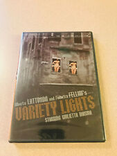 Variety Lights DVD Criterion Collection Hard To Find New