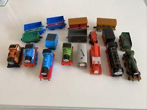 Thomas The Tank Engine Plastic Trains Bundle Job Lot Of 8 Trains & 6 Trucks