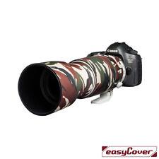 Malla se adapta a todas las grandes lentes de teleobjetivo Canon Nikon Sigma Verde Camuflaje Cubierta de zoom
