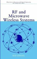 RF and Microwave Wireless Systems: By Chang, Kai