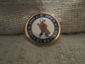 1999 US Open 99th Championship Pinehurst No2  Peg Ball Marker Mark Payne Stewart