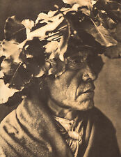 EDWARD CURTIS Indian Tribe PORCUPINE CHEYENNE  Native American Book Print