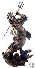 "Greek - Poseidon - God of the Sea (Bronze) 11"" Statue"