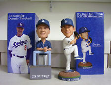 Clayton Kershaw and Don Mattingly 2011 LA Dodgers Bobble Bobblehead Set Lot SGA