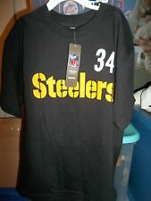 Pittsburgh Steelers RB Rashard Mendenhall #34 Reebok Kids Youth Player T-Shirt M