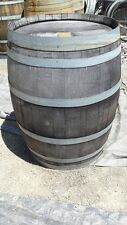 Grey Rustic Used Oak Wine Barrels - Burgundy Style