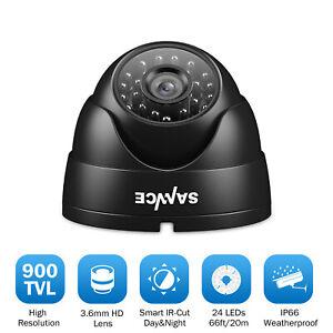 SANNCE 900TVL Dome CCTV 1pcs Camera IR Cut IP66 Night Home Security System