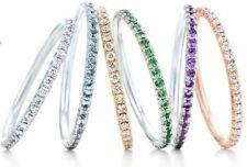 Tiffany & Co. 18k White Gold Fine Diamond Rings