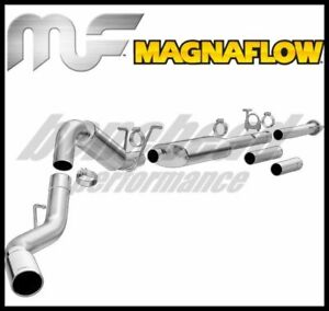 Magnaflow 19026: MF Cat Back Exhaust 2015 Silverado Sierra 2500HD 3500HD 6.0L