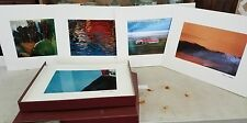 Marc C. Abrahms Full Set of 16 Professionally Matted Prints. 1993 Free Shipping
