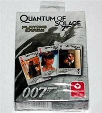 JAMES BOND 007 QUANTUM OF SOLACE 2008 Daniel Craig Movie ONE DECK PLAYING CARDS