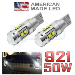 R35 GTR 08-on Super Bright LED Reverse Light Bulb 921 W21W 50w