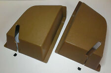 VOLVO 240 244 Rear Window Shelf Seat Belt Cover Set BEIGE. NEW! Reproduction L+R