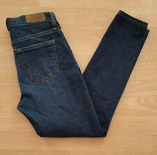 Big Star Women's Slim Skinny Crop Stretch Jeans Size 27 Blue Dark Wash