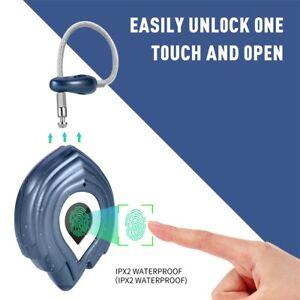 Smart Fingerprint Padlock Keyless Anti-theft Security Door lock USB Rechargeable