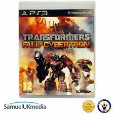 Transformers: la Caída De Cybertron (PS3) ** Excelente Estado **