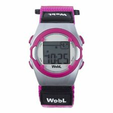 WobL Watch - 8-Alarm Vibrating Reminder Watch PINK