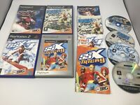 Playstation 2 Ps2 SSX Bundle Ssx Tricky, On Tour & 3 All Games Complete
