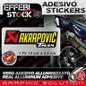 Adesivo / Sticker AKRAPOVIC  RACING T MAX 530 500 ALTE TEMP 200°gradi
