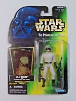 Star Wars The Power of the Force AT-ST Driver with Rifle and Pistol NIP Kenner
