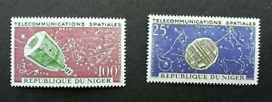 [SJ] Niger Air Space Telecommunications 1962 Satellite Astronomy (stamp) MNH