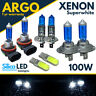 For Ford Custom Transit Headlight Bulbs Xenon Hid White 100w Fog Side light Bulb
