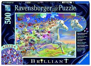 Ravensburger - Unicorn and Butterflies 500pc - Jigsaw Puzzle