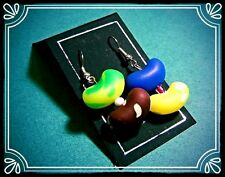 ** Jelly Bean ORECCHINI-handmade fimo SWEET Estate **