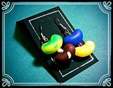 ** Jelly Bean ORECCHINI-handmade fimo SWEET Estate **