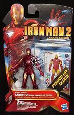 Marvel IRON MAN 2 Movie Series MARK VI w/Power-up Glow. No.08 New! Avengers