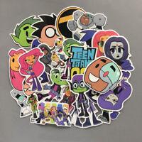26Pcs Teen Titans Go! Stickers Pack Raven Beast Boy Starfire Cyborg Robin Decals