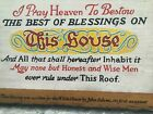 """John Adams """"I pray heaven to bestow the best of blessings on This HouseWH plaque"""