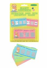 Baby Boy or Girl Shower Mum to Be Fun Game Party Accessory SCRATCH & WIN CARDS