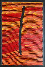 RONNIE TJAMPITJINPA , Highly Collectable Aboriginal Art,  Incl, COA and Photo's.