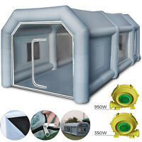 8x4x3m Inflatable Spray Booth Tent Car Paint Booth Mobile Workstation Tourism