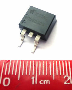 Fairchild R1560S3S 600V 15A Silicon Junction Diode 3-Pin D2PAK OM0928Z