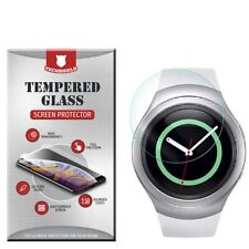 For Samsung Galaxy Gear S2 Watch Tempered Glass Screen Protector [Bubble Free]