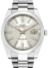 Rolex Datejust 41 Steel Oyster Bracelet Mens Watch Box/Papers 126300