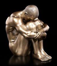 Escalade Buddy figurine homme Antique Couleur Argent Grimpeur Hanging Statue