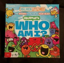 MR. NOSY'S WHO AM I? IMAGINATION - MR MEN - LITTLE MISS - free shipping